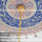 Motif Kubah Masjid Paling Memukau dan Populer