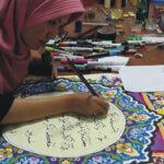 mushaf kaligrafi