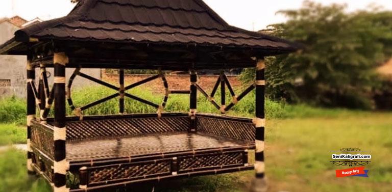 Inspirasi Desain Gazebo Bambu Terlaris0 (0)
