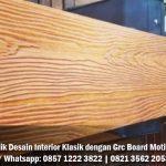 Solusi Terbaik Desain Interior Klasik dengan Grc Board Motif Kayu