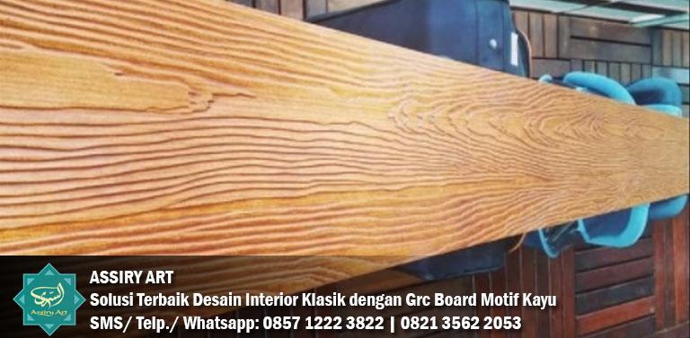 grc board motif kayu