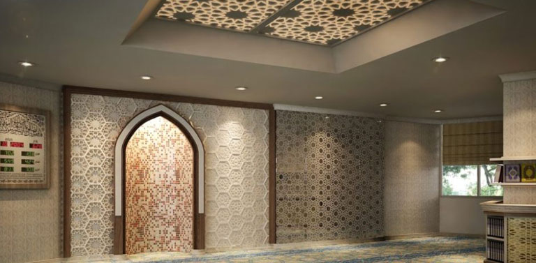 grc dinding masjid