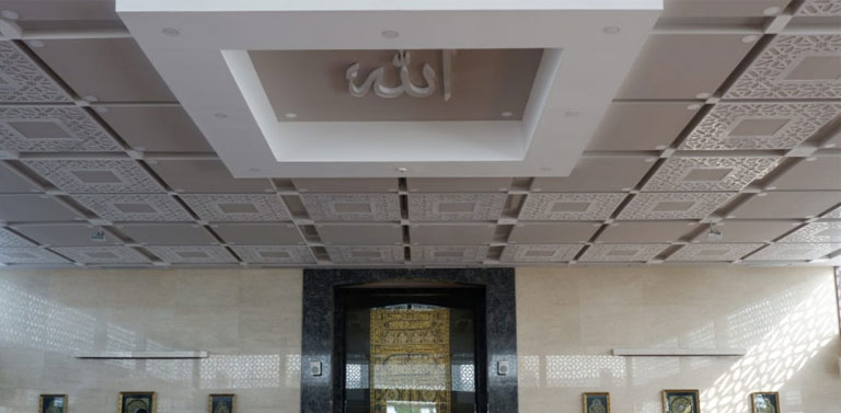 plafon masjid