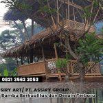 Saung Bambu Berkualitas dan Desain Terbaru | CV. ASSIRY ART/ PT ASSIRY GROUP